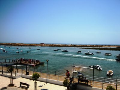 Photo for Apartment near the beach, great view and location, Cabanas Tavira Algarve