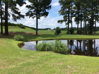 Photo for First Floor Condo on Wizard Golf Course—what a view!!!