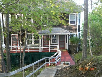 Photo for Quintessential Maine summer home with magnificent harbor viewsay 4 Bedrooms