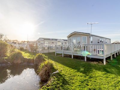 Photo for Stunning 6 berth holiday home for hire at Manor Park in Hunstanton ref 23224K