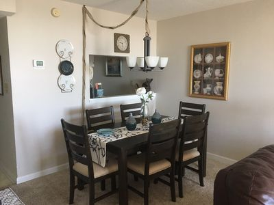 Photo for Beautiful 2-Bedroom Family Condo - One street from Ocean - All Amenities of Home