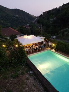 Photo for House in the first hill with swimming pool, 3 bedrooms, 3 bathrooms, surrounded by greenery.