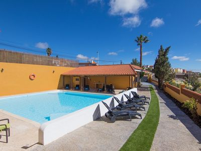 Photo for GRAN CANARIA COTTAGE GETAWAY, POOL, BBQ, SEA VIEWS