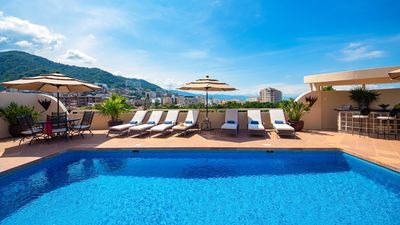 Photo for UPSCALE VILLA JACUZZI POOL & STAFF A FEW METERS FROM ELIZABETH TAYLOR EX HOUSE