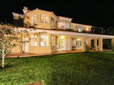 Photo for Luxury villa, spectacular sea views, pool, BBQ, next golf course