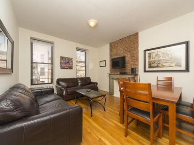 Photo for Times Square 2 Bed 1 Bath - Huge Living Room - Theaters - Music - FOOD