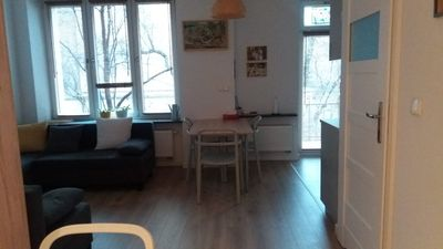 Photo for Brand new studio apartment a few minutes tram ride from the main square!