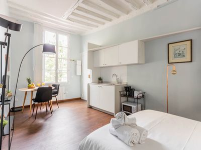 Photo for COSY STUDIO IN LE MARAIS – STEPS FROM CHATELET LES HALLES!