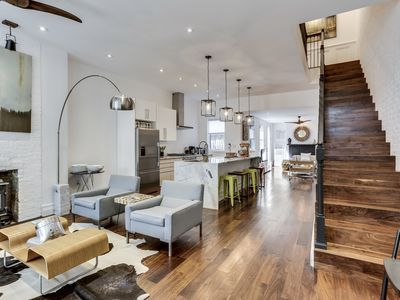 Photo for Historic Rowhouse with Modern Touches - Best Location - Plus Off Street Parking