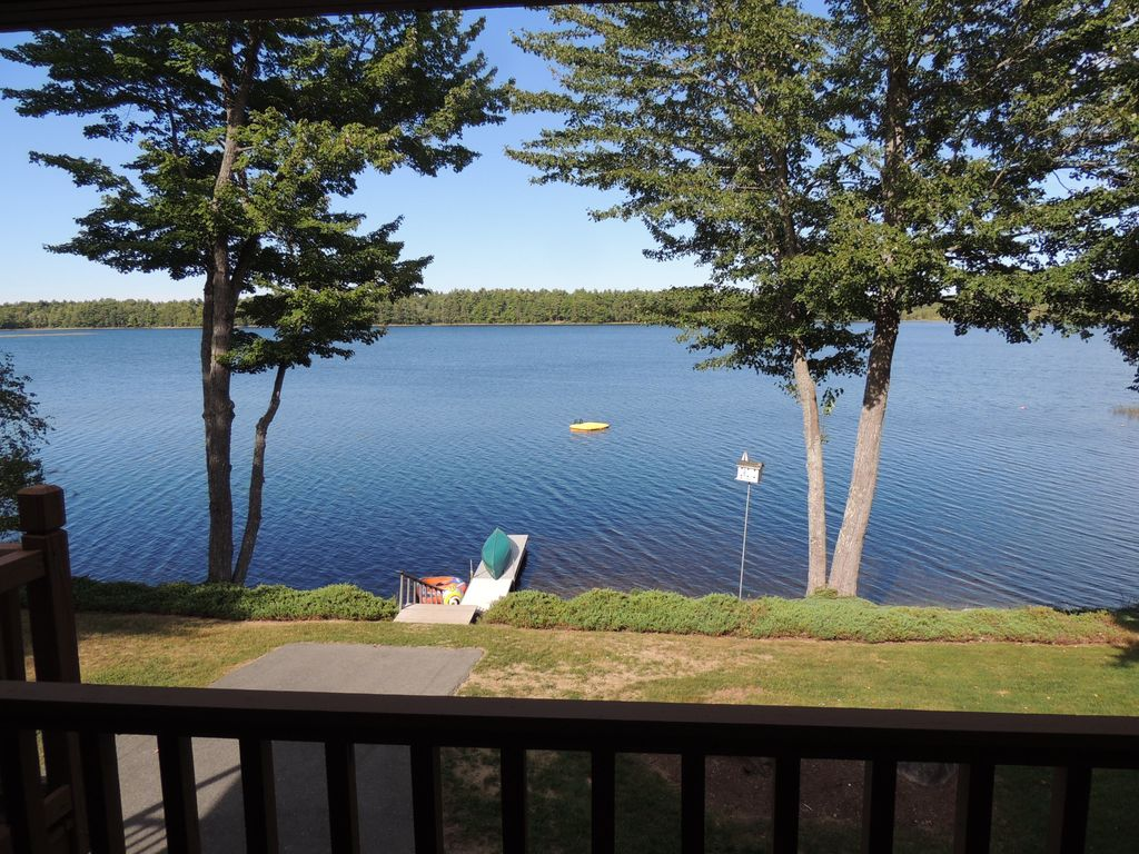 Charming lakefront cottage on beautiful chemo pond near for Private fishing ponds near me