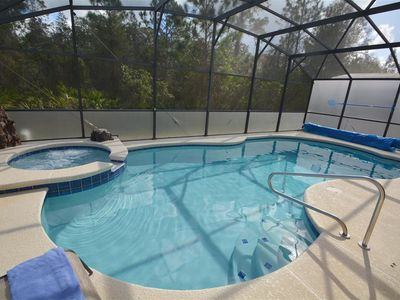 5 Bedroom pool Home, minutes From Disney, Game Room, WIFI, Free long distance
