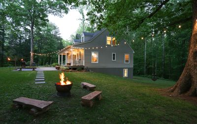 Spacious and peaceful outdoors!