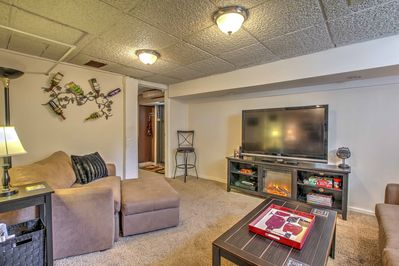 With a well-equipped kitchen, this studio is perfect for families and couples!