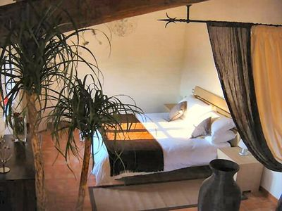 Photo for Casa del Tramonto in Tuscany: Le Stelle, luxury holiday apartment
