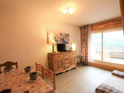 Photo for 3rd floor, view panoramic, balcony, parking, tv, 44m², Serre Chevalier