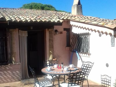 Photo for House 1.2 km from the center of Sainte-Maxime with Parking, Internet, Washing machine, Terrace (108739)
