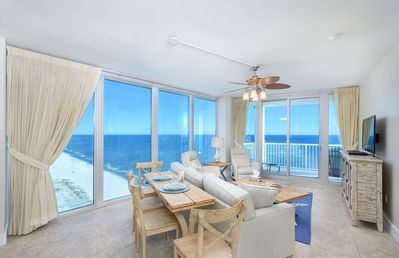 Photo for Island Tower - On top of it all! 3/3 Direct Gulf Front Corner! Beach SVC Daily
