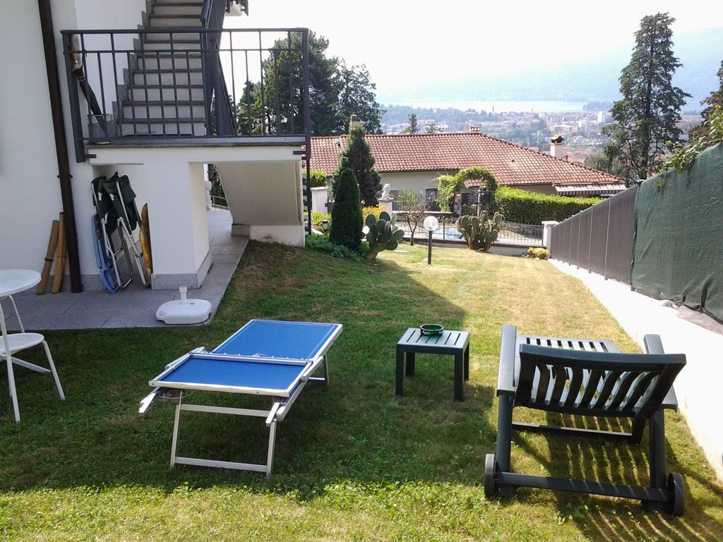 Intimate Apartment With Garden And Terrace With Sublime Views Over The Lake Verbania Intra