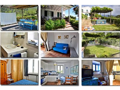 Photo for Elba Costa del Sole - Two-roomed apartment sleeping 4 - Casa Blu