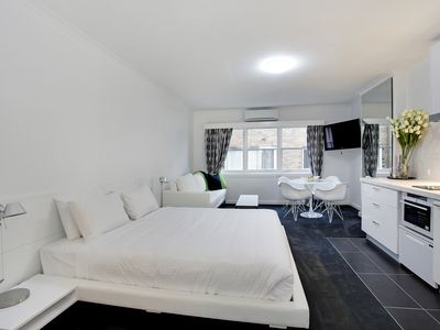 "Photo for ""St James"" Fully furnished Studio Apt 10/35 Darling St, South Yarra"