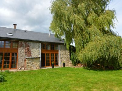 Photo for Charming stone house near the historic center of Durbuy
