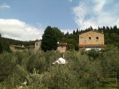 Photo for total relaxation amid the panoramic olive groves near Florence