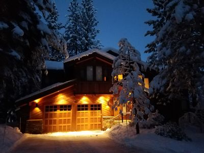 Photo for Spacious home on golf course and close to skiing.  Perfect for Summer or