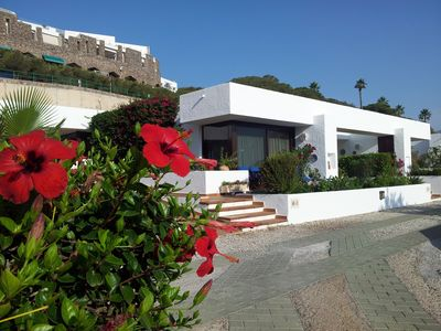 Photo for Golf Bungalow with Communal Pool Overlooking Golf Gourse