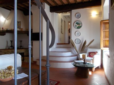 Photo for Bright suite furnished with care of all essential services- Private swimming pool