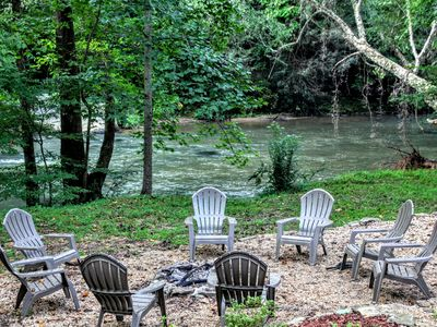 Photo for Relax & Unwind at the Chestatee River Retreat! Dog Friendly & Near Wineries