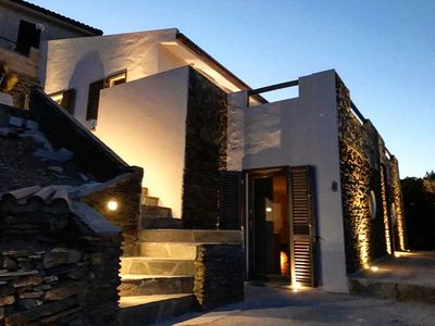 Photo for Luxury residence overlooking the Argentiera bay