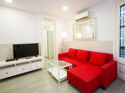 Photo for Apartment Eix. Esquerre Entenza-Av Roma 02 in Barcelona - 5 persons, 2 bedrooms