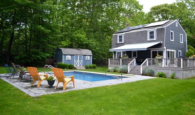 Photo for Water Mill - 3 Br Rental with an Inviting Back Deck and Pool