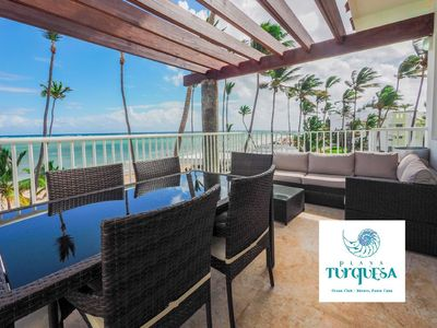Photo for Royal Ocean Front BBQ Penthouse, Dream Location, Playa Turquesa Ocean Club
