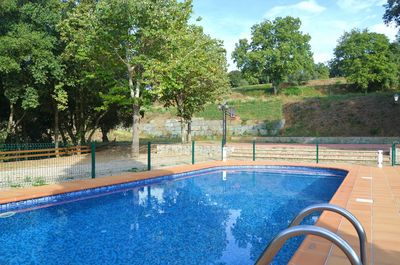 Kids will love to play in the pool and everyone will enjoy a cool dip in the sun