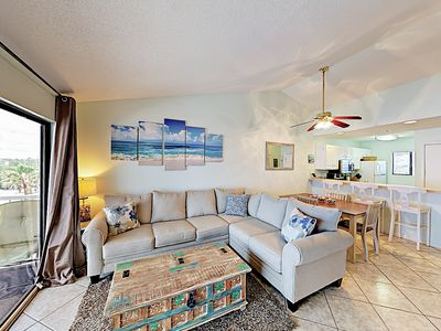 Photo for Top-Floor 2BR Condo in Small, Gulf-Front Complex w/ Pool & Beach Access