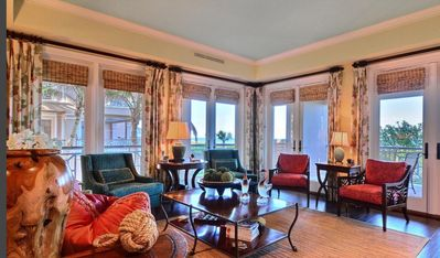 Photo for Beachfront 3 bed/3bath condo with exquisite furnishings ..Dogs welcome!