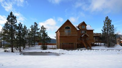 Photo for Sky High Retreat- Breathtaking Lake Views with Pool Table & Outdoor Spa!