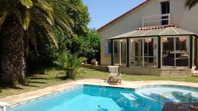 Photo for Rental luxury villa near Montpellier and beaches