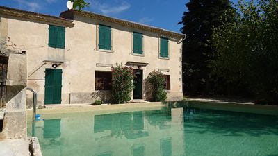 Photo for renovated and comfortable house, in Provencal farmhouse, surrounded by vineyards