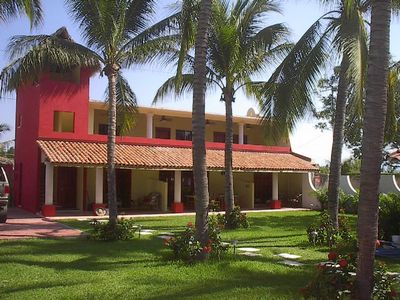 Photo for Ocean front Villa with Private Pool and Large Grounds