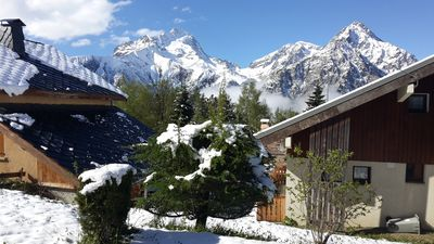 Photo for Les 2 Alpes - 2 rooms 4/6 people, ski in / ski out