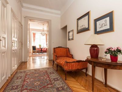 Photo for Elegance & Tradition - Budapest Historic Center Apartment - sleeps 6