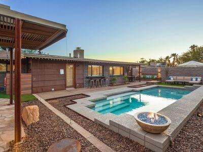 Photo for Manzi Place - Luxury Pad w/ Heated Pool & Cozy Fire Pits + Centrally located!