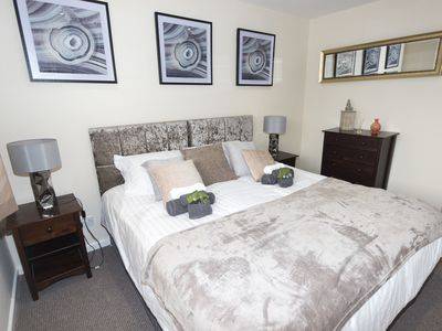 Photo for Hawksworth House, 2 Bedroom House, with Private Garden and Free Parking