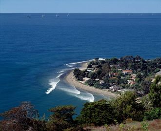 Rincon Point Community, Carpinteria, CA, USA
