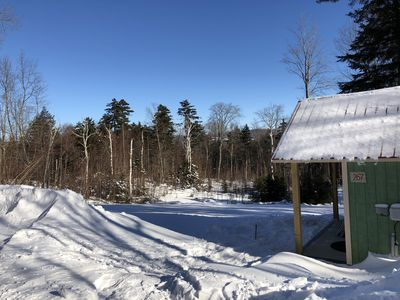 Photo for Brand New! Ski-in Sugarbush/Mount Ellen Cabin/Tiny House on 3.2 Acres