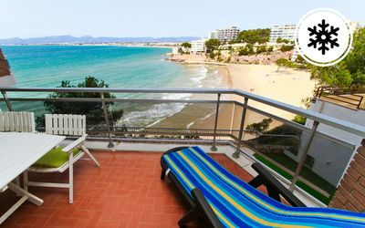 Photo for Apartment with spectacular sea views, pool and parking - Turismar