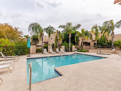 Photo for *SANITIZED* SUMMER OFFER  3BR, Superb Townhome /Heated COM Pool/Spa