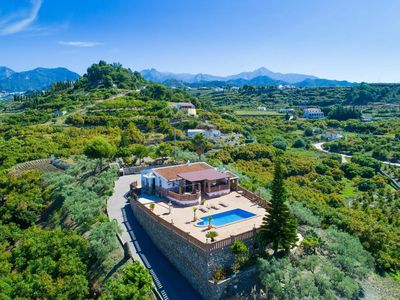 Photo for Wonderful private villa for 6 people with private pool, WIFI, A/C, TV and parking